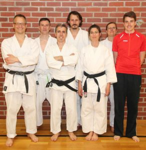 Read more about the article Karate: Prüfung zum 8. Kyu