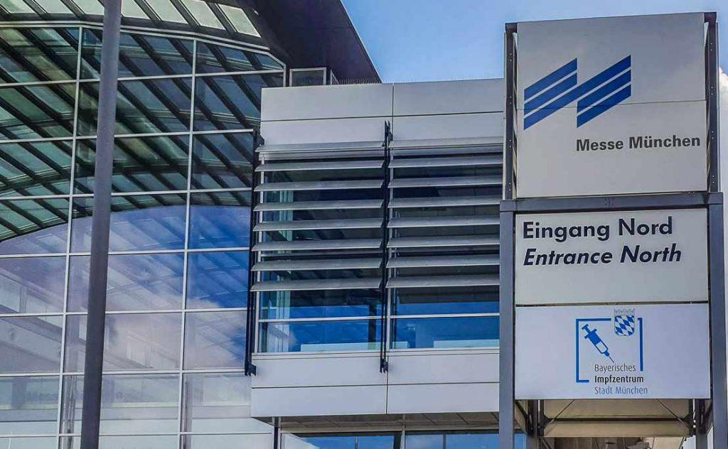 Impfungen im Impfzentrum ohne Voranmeldung möglich (Bild: TSV München Nordost)